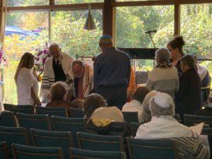 Torah service with Rabbi Mirel